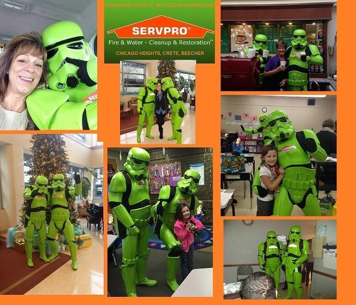 SERVPRO Storm Troopers spread Holiday cheer