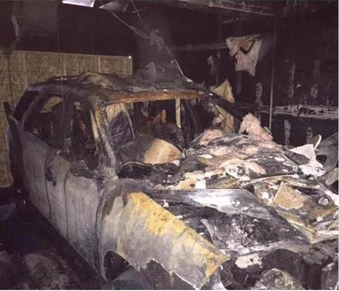 Fire Damage – Chicago Heights Garage