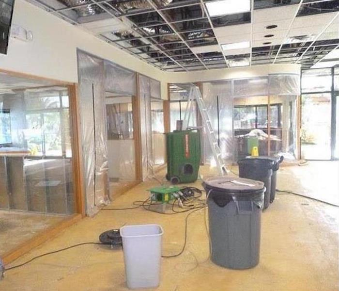 Commercial Water Damage – Chicago Heights Retail Store