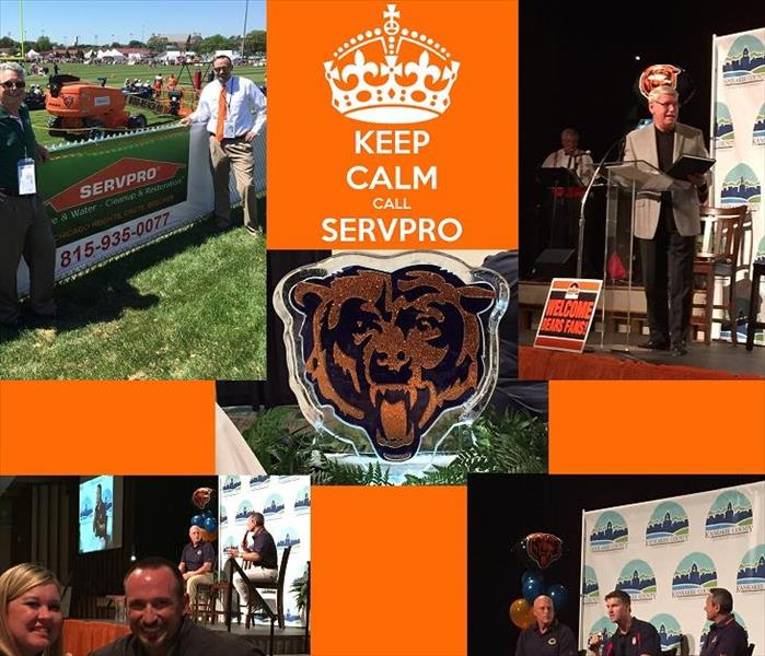 SERVPRO supports Chicago Bears & Olivet Nazarene University.
