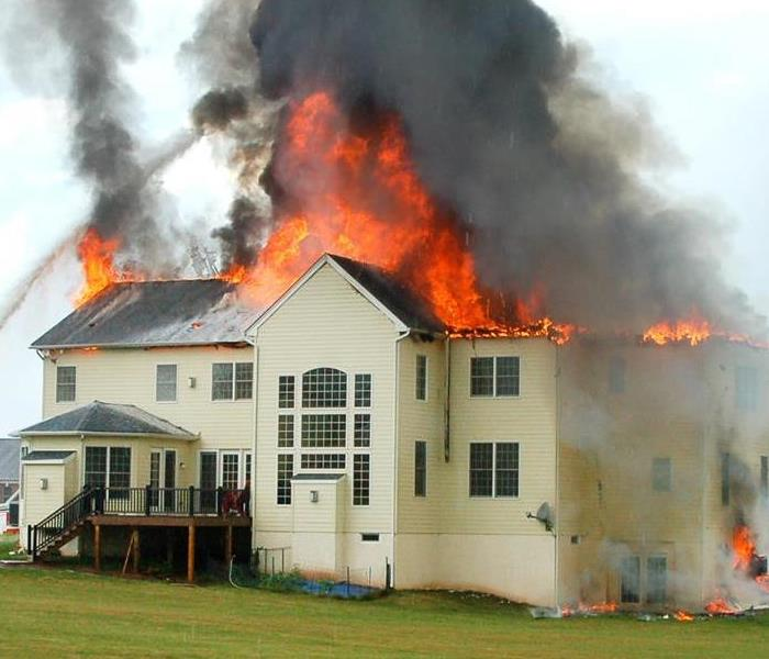 Fire Damage The ERP Plan from SERVPRO is a Valuable Tool Against Fire and Water Damage in Lynwood
