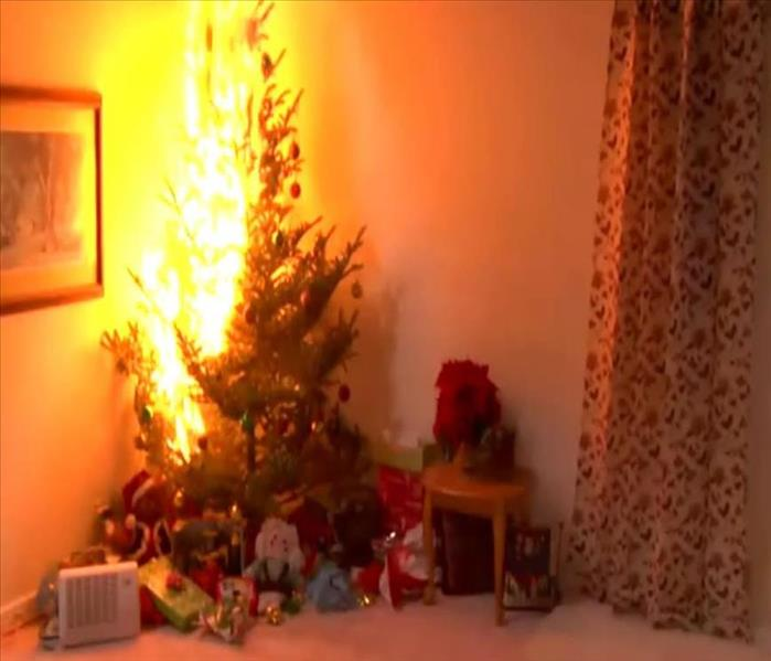 Fire Damage Holiday Fire Tips for Chicago Heights