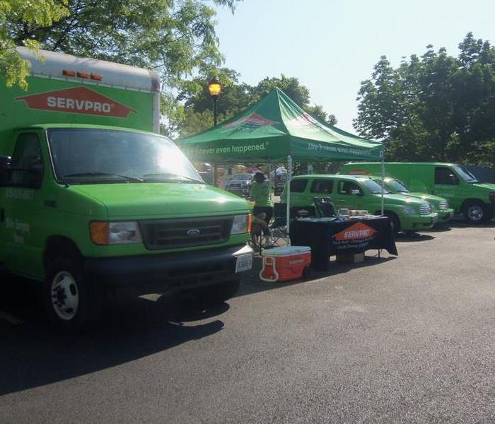 SERVPRO supports local first responders