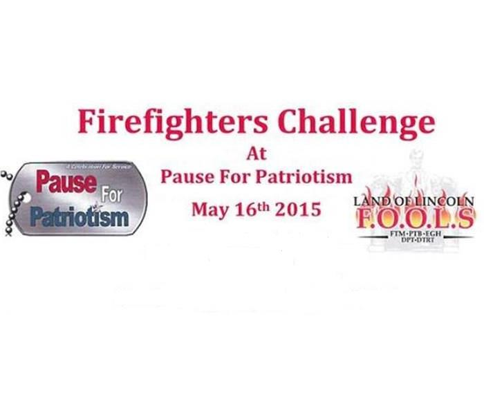 Community 2015 – Land of Lincoln F.O.O.L.S. Firefighter Challenge at Pause for Patriotism