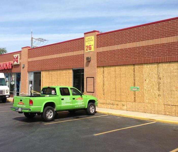 Commercial SERVPRO is here when you have fire damage to your Peotone business