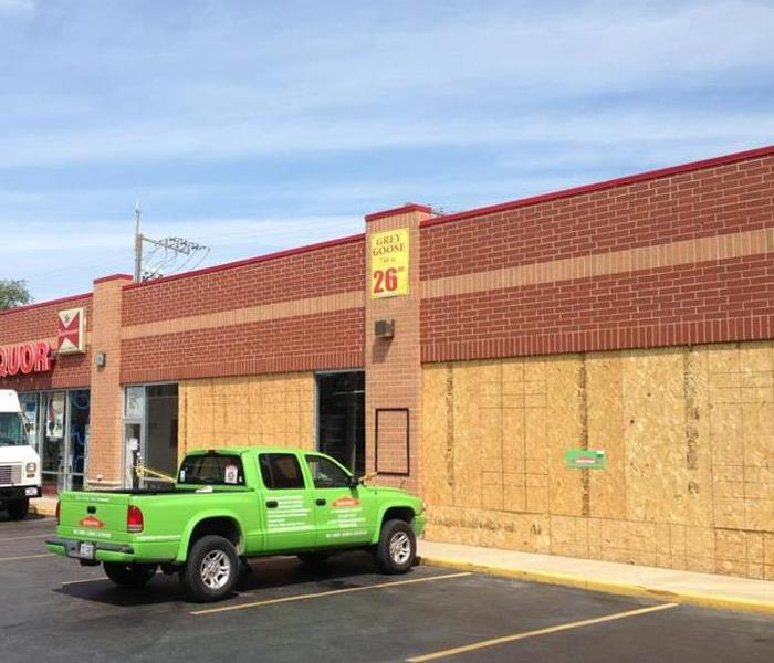 Commercial SERVPRO building relationships with businesses